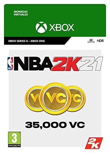 NBA 2K21: 35,000 VC   Xbox One - Código de descarga