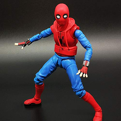 Spider-Man: Homecoming Action Figure Marvel Avengers Modello Giocattolo Personaggio Animato Modello Modello Giocattolo per Bambini Old Wardrobe