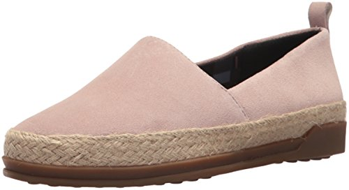 Blondo Women's Bailey Waterproof Loafer Flat, Light Pink Suede, 11 M US