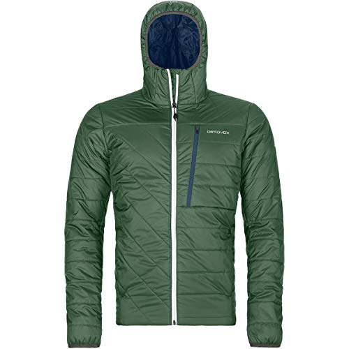 ORTOVOX Herren Swisswool Piz Bianco Jacke, Green Forest, M