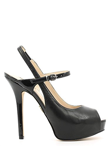 Guess FLENA2 LEA05 sandalen met hoge hakken Vrouwen Zwart 40