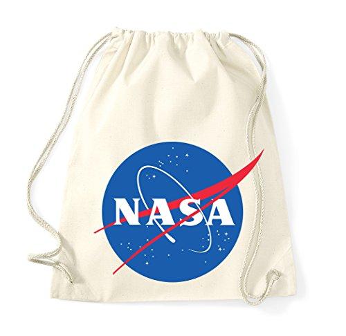 TRVPPY Baumwoll Turnbeutel/Modell NASA/in vielen verch. Farben/Beutel Rucksack Jutebeutel Sportbeutel...