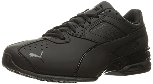 PUMA Men's Tazon 6 Fracture FM Sneaker Black, 8 M US