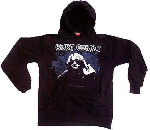 Bravado Cobain,Kurt - Blue Acid 0914172 Unisex - Erwachsene Sweatshirts, Gr. 38/40 (M), Schwarz (schwarz)