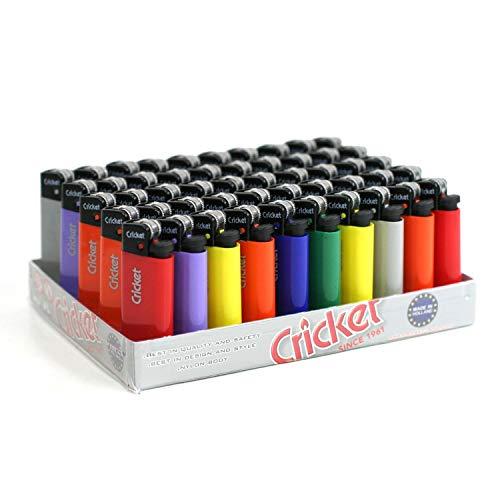 Mini Cricket Simplicity Lote de 5 mecheros, varios colores