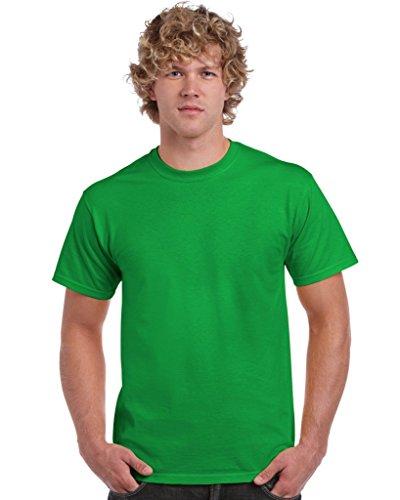 Gildan Ultra Baumwoll-T Shirt Gr. M, Grün - Irish Green