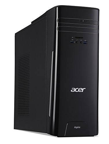 Acer Aspire Desktop, 7th Gen Intel Core i5-7400, 8GB DDR4, 2TB HDD, Windows 10 Home, TC-780-AMZKi5 2.4GHz E5620 Torre Negro PC