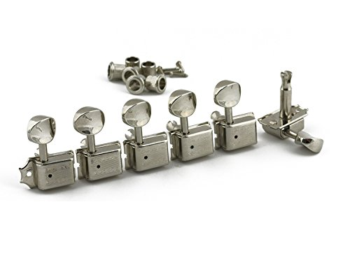 Kluson 6en línea Vintage máquinas de Tuning níquel