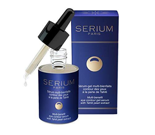 SERIUM - Suero-gel con múltiples beneficios para el contorno de ojos con Perla de Tahití