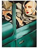 ggggx 1000 Piezas Rompecabezas Tamara De Lempicka réplica de póster Adultos niños Juguete Educativo Juego clásico Rompecabezas de Juguete Educativo 38 * 26 cm