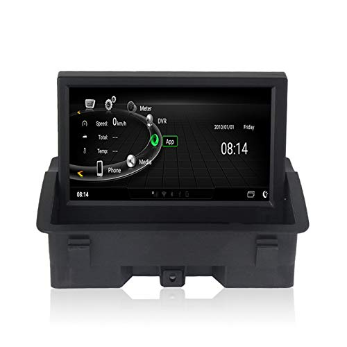 Foof Autoradio Android Bluetooth GPS Radio De Coche Pantalla Táctil De 7'' Android Auto Carplay Integrado Mantenga Todas Las Funciones para Audi A1 8X 2010-2017,4g ram 32g ROM