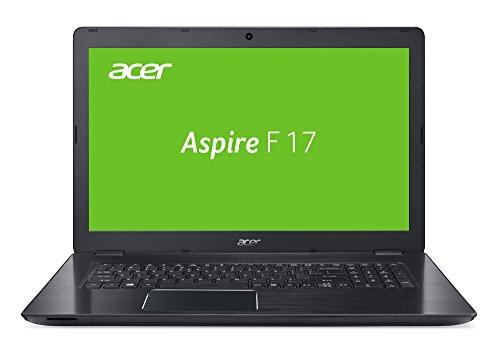 Acer Aspire F 17 (F5-771G-72Q0) 43,94 cm (17,3 Zoll) Full HD Laptop (Intel Core i7-7500U, 16 GB RAM, 256 GB SSD + 1000 GB HDD, NVIDIA GeForce GTX 950M (4 GB GDDR5 VRAM), Win 10 Home) schwarz