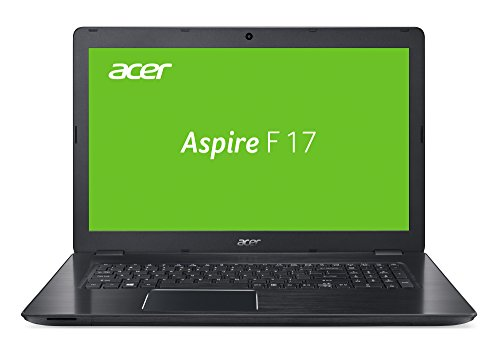 Acer Aspire F 17 (F5-771G-72Q0) 43,94 cm (17,3 Zoll) Full HD Laptop (Intel Core i7-7500U, 16 GB RAM, 256 GB SSD + 1000 GB HDD, NVIDIA GeForce GTX 950M (4 GB GDDR5 VRAM), Win 10 Home) schwarz