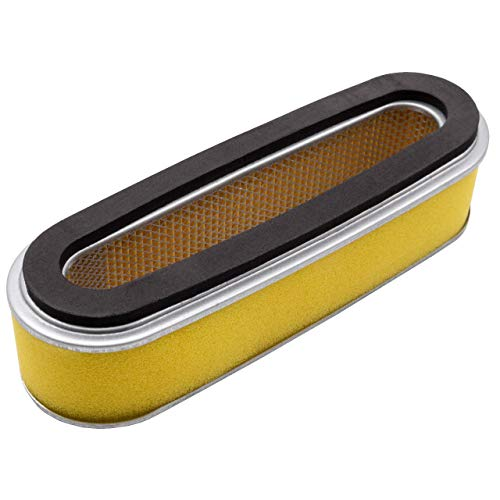 vhbw Luftfilter mit Vorfilter Ersatzfilter kompatibel mit Honda HR21, HR214, HRA214 Rasenmäher, 18,7 x 6,2 x 5cm