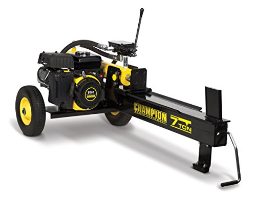 CHAMPION POWER EQUIPMENT 7-Ton Compact Horizontal Gas Log Splitter with Auto Return