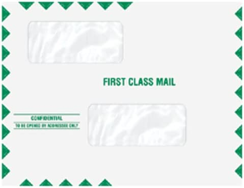 EGP 55% OFF Double Window Tax Return Qu Envelope Seal Mailing Fort Worth Mall Moisture