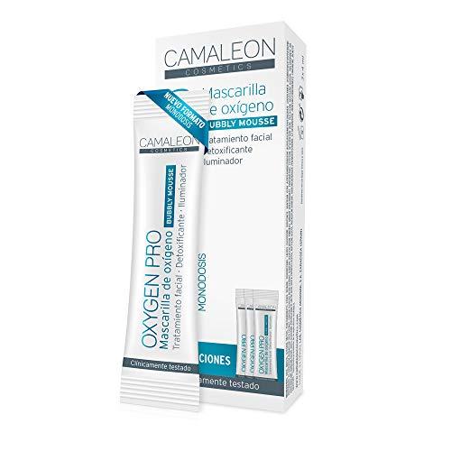 Camaleon Cosmetics, Mascarilla Oxygen Pro, 3 unidades, 12ml