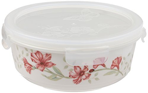 Lenox Butterfly Meadow Serve and Store 6.25' Bowl , White - 824646