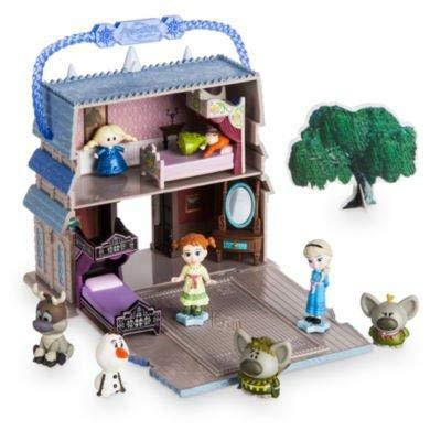 Disney Playset Elsa, Colección de Animadores Littles