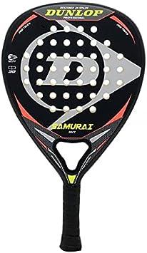 Pala de Padel Dunlop Samurai Soft + Overgrip Incluido / Mejores Palas polivalente para Hombre Mujer Niño y Junior / Alto Control y Potencia en Cada golpeo de Pelotas