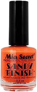 Mia Secret Sandy acabado esmalte de uñas Naranja 15ml