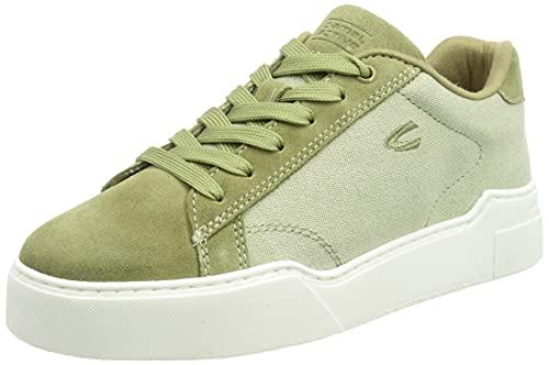 camel active Wind Sneaker, Zapatillas Mujer, Color Caqui, 40 EU