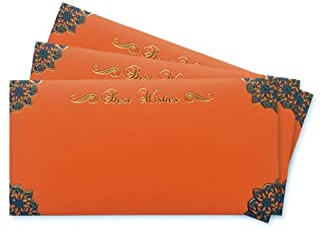 Amazon Pay Gift Card - Gift Envelope | Orange | Pack of 3