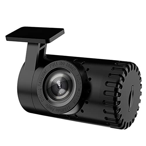 Camisin 1080P Android CáMara Grabadora de Video Grabador de Video DVR Dashcam GrabacióN en Bucle Full HD CáMara de Coche Aparcamiento Sensor G