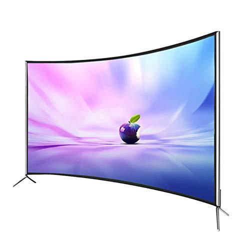 CFYP Televisor LED Inteligente 4K Ultra HD Curvo de 42/50/55 Pulgadas, Puertos HDMI, USB y VGA Integrados (Serie 2021)