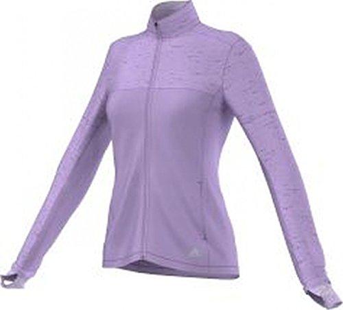adidas Sweatshirt SN Storm Jacket W Sudadera, Mujer, Rojo-(BRIMOR), L