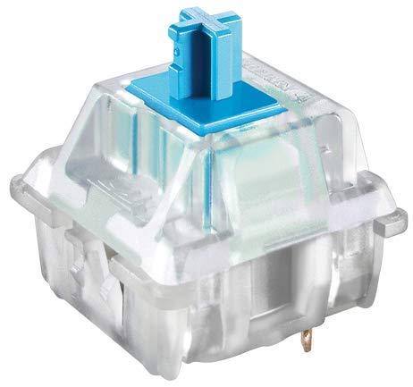 Cherry MX RGB Blue Mechanical Key Switch | Plate Mount (3pin) | 108 pcs