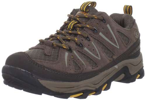 Northside Cheyenne JR Hiking Boot ,Taupe/Mango,5 M US Big Kid