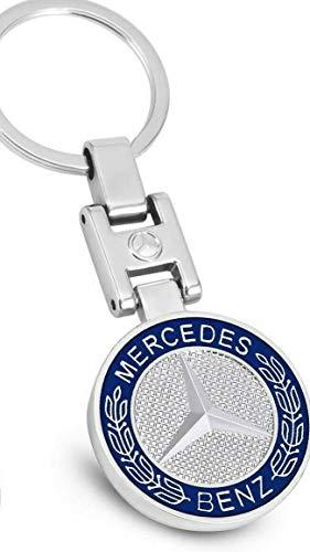 PSL Schlüsselanhänger aus Metall, kompatibel mit Mercedes Benz Autos, Geschenk und Merchandise