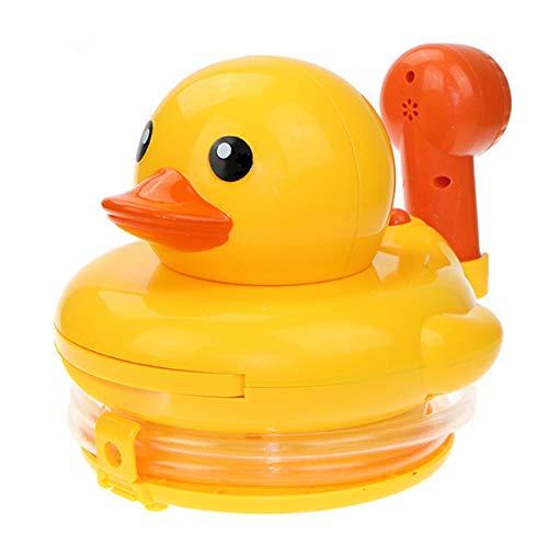 Rain City 2019 Big Yellow Duck Toy Douche 16 * 17 * 17 cm Abs électrique de pulvérisation d'eau AA Batterie * 3 Convient pour bébé sur 3 Ans