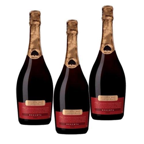 Quinta dos Carvalhais Riserva Rosato - Vino Spumante - 3 Bottiglie