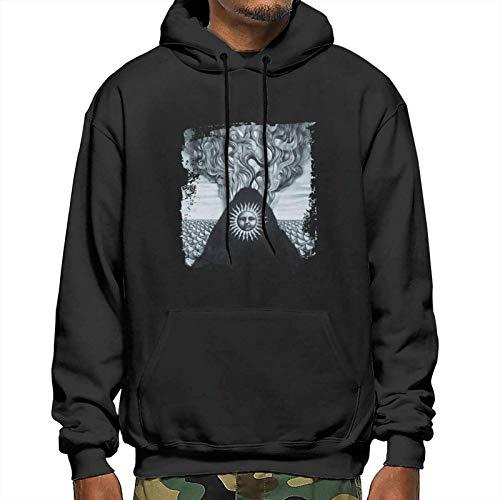 Gojira Magma Mans Hoodies Vogue Drawstring Sweatshirt Pullover Hoody with Big Pockets
