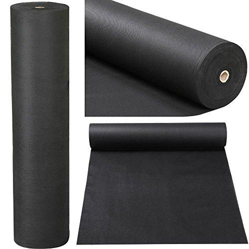 Popamazing - telo pacciamante per combattere efficacemente le erbacce da 50 g/mq, tessuto diserbante per coprire il terreno, delle dimensioni di 20 x 1,5 m