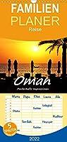 Oman - Zauberhafte Impressionen - Familienplaner hoch (Wandkalender 2022 , 21 cm x 45 cm, hoch): Eine spannende Reise im Gebirge und am Meer (Monatskalender, 14 Seiten )