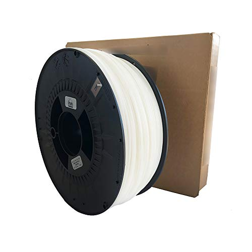 3D Printer Filament - Natural HIPS Soluble Filament for Media - 1.75 mm - Weight 1000 g (1 kg) - 3D Printing