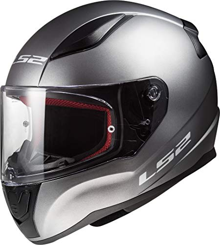 LS2, Casco integral de moto Rapid, titanio, L