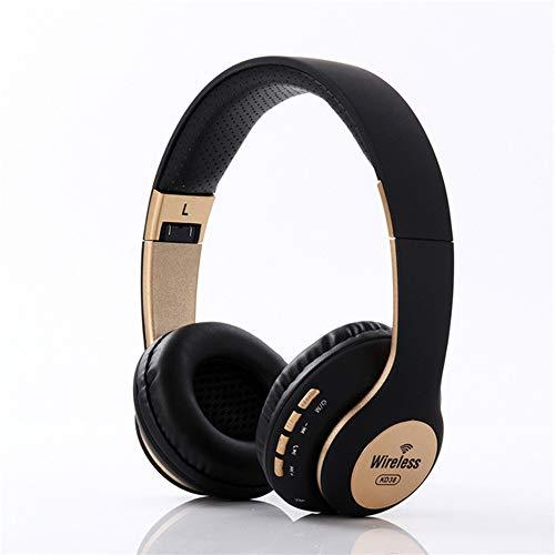 JSX Over Ear Headset V5.0 met koptelefoon met ruisonderdrukking Opvouwbare, zachte oorbeschermers van geheugenproteïnen voor TV/pc/mobiele telefoons