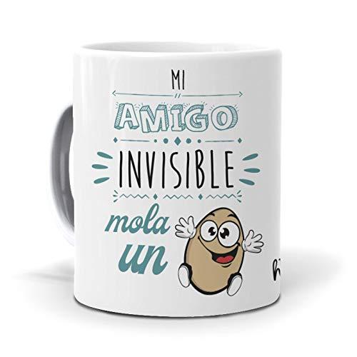 Taza Mi Amigo Invisible Mola un Huevo