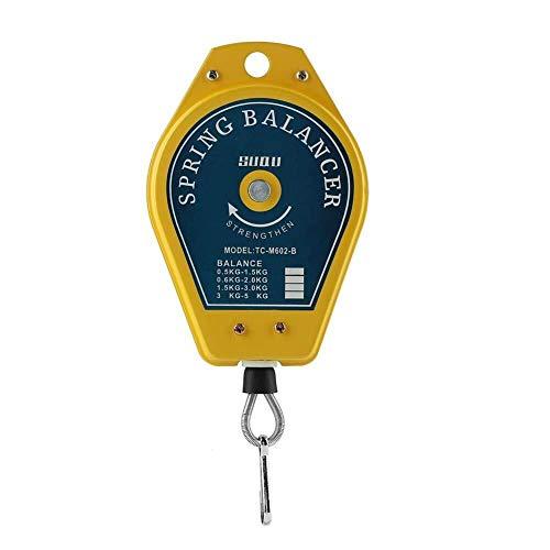 SLL Soporte de Herramientas Cargado de Resorte retráctil, Soporte de Herramientas de equilibrador de Resorte, 0.5-1,5 kg de Capacidad de Carga práctico