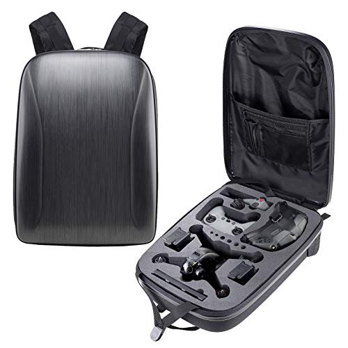 Portable Hard Case for DJI FPV Combo,Luxury Waterproof Backpack for DJI FPV Drone/DJI FPV Controller/DJI FPV Goggles V2/DJI FPV Air Unit/DJI FPV Battery