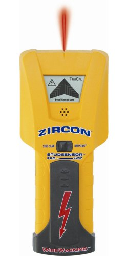 Zircon StudSensor Pro LCD Deep-Scanning Stud Finder with How-To Guide