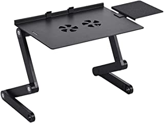 Sponsored Ad – Urban Utility Foldable Laptop Stand, Adjustable Laptop Bed Desk, Portable Laptop Workstation Vented Noteboo...