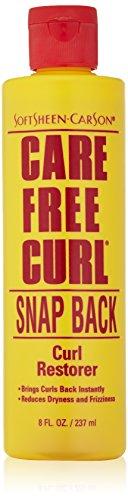 SOFT SHEEN Carson Care Free Curl Snap Back Curl Restorer 8oz/237ml