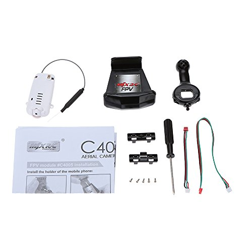 MJX C4005 FPV Aerial Camera Components for MJX T64 T10 T55 T57 RC Helicopter and X400 X500 X600 X800 RC Quadcopter