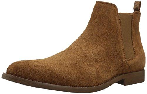 ALDO Women's Vianello-r Ankle Bootie, Medium Brown, 9.5