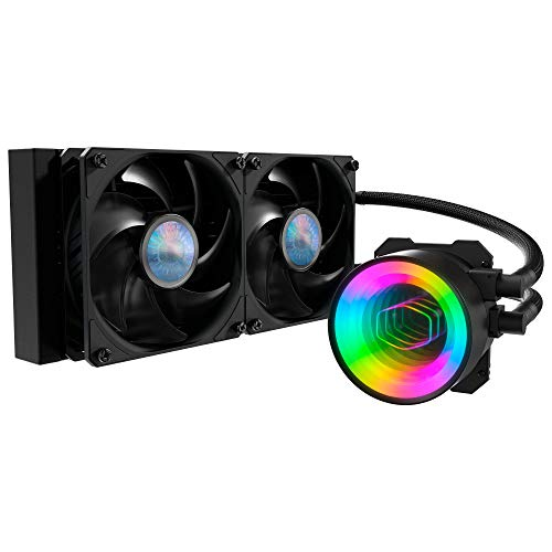 Cooler Master MasterLiquid ML240 Mirror AIO 240 Radiator CPU Liquid Cooler $89.99